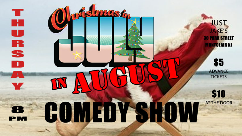 The Non-Productive Comedy Show – August 2nd at Just Jake's